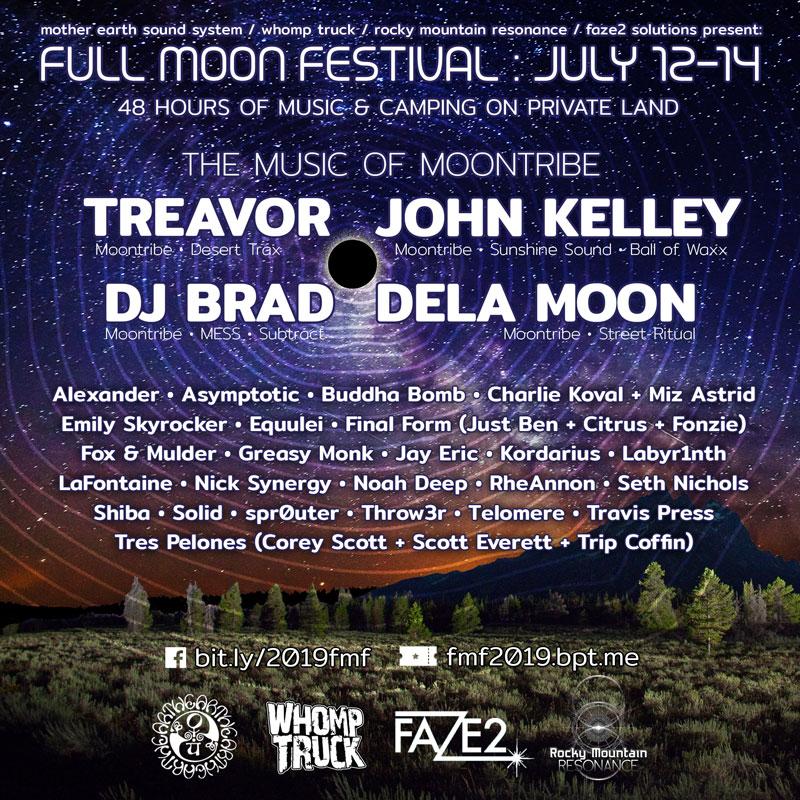 Full Moon Festival 2019 – MESS